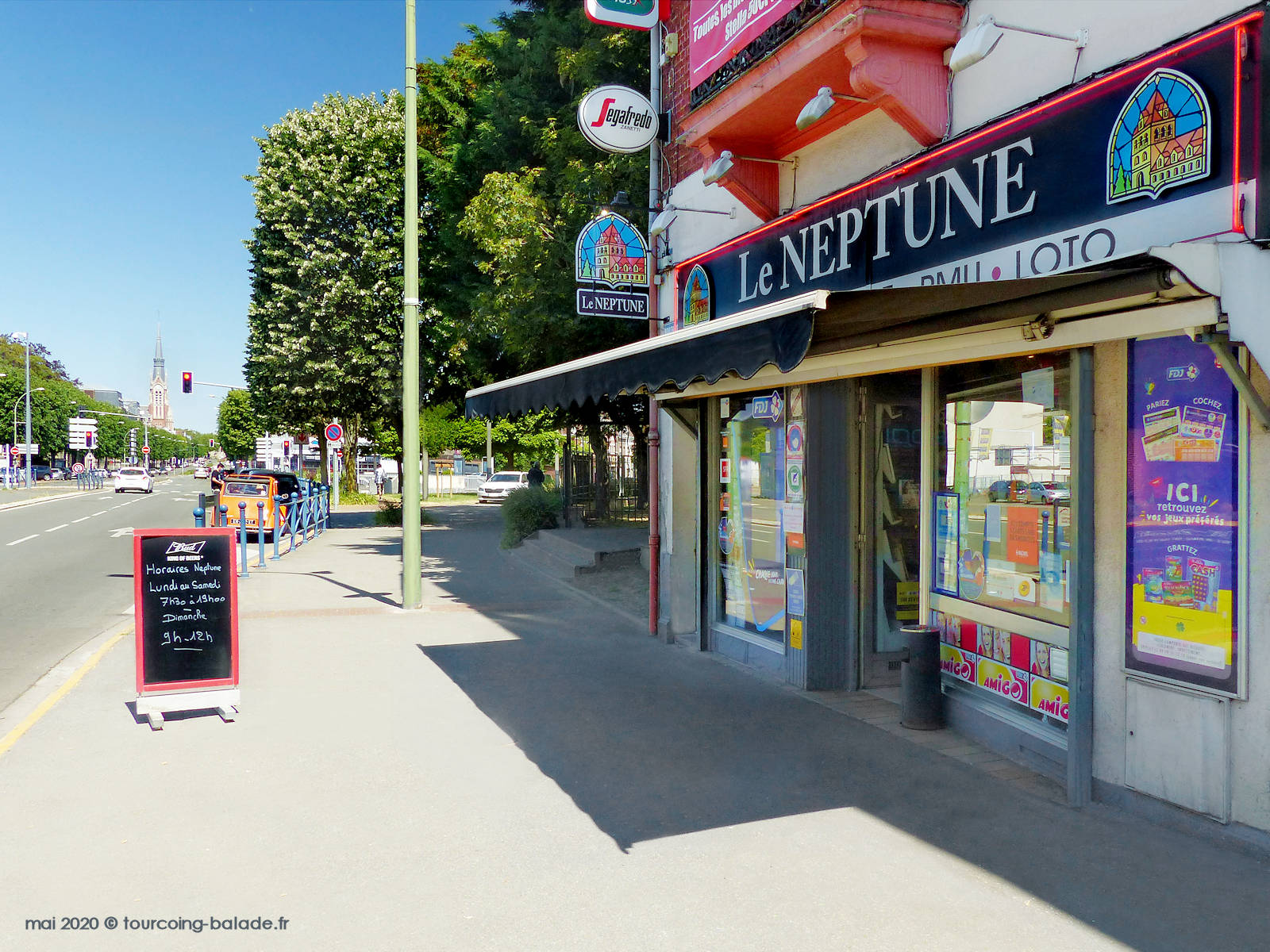Le Neptune, Tabac Loto Presse, Tourcoing 2020