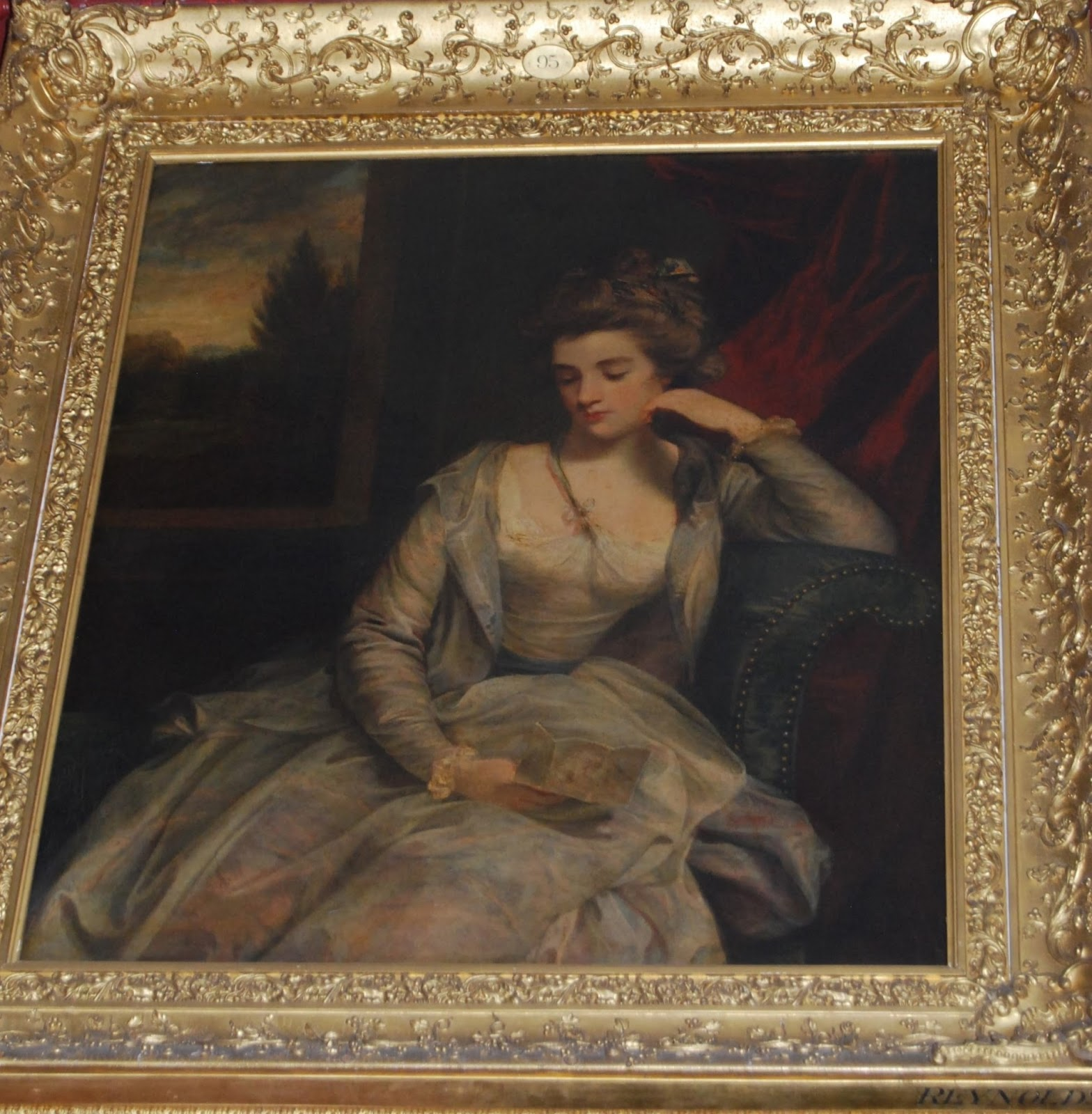 Reynolds in the North Gallery, Petworth House, photo by Modern Bric a Brac