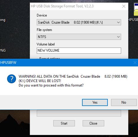 أفضل أداة مجانية لإصلاح مشاكل USB و ال FLASH MEMORY المعطوب