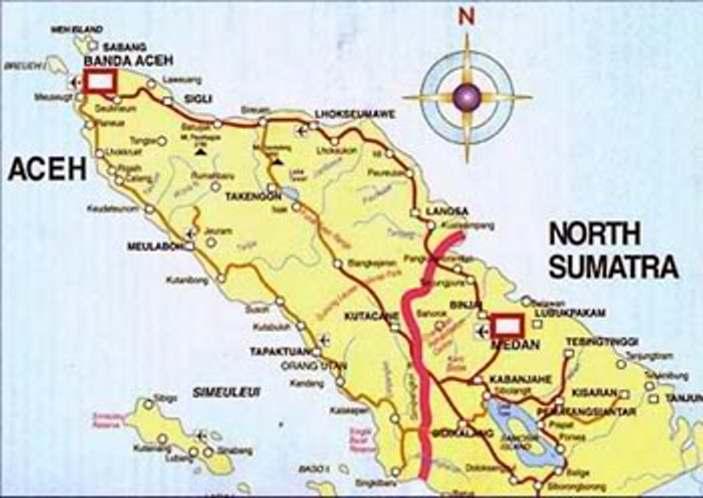 23 nama kota kabupaten di nangroe aceh darussalam serta