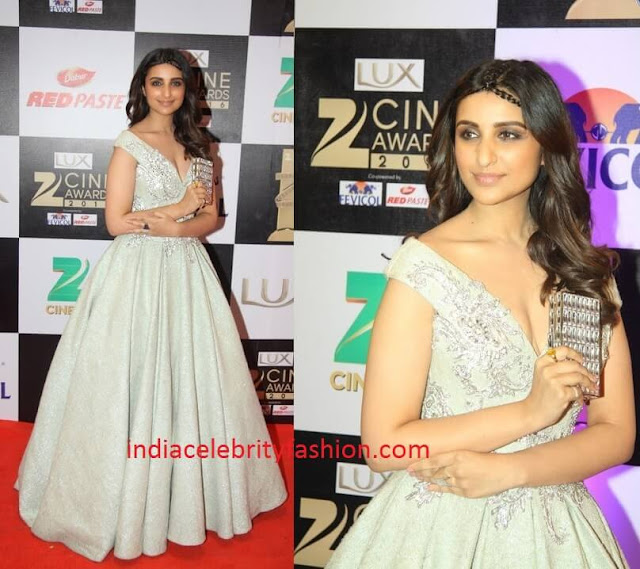 Parineeti Chopra in Tarek Sinno at zee cine awards 2016