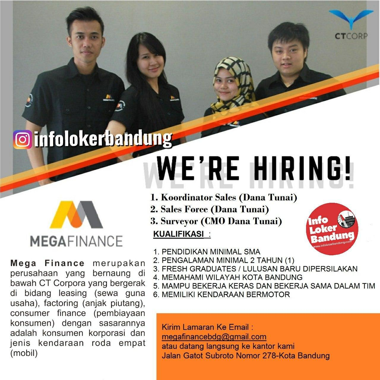 Lowongan Kerja Mega Finance Bandung Januari 2020