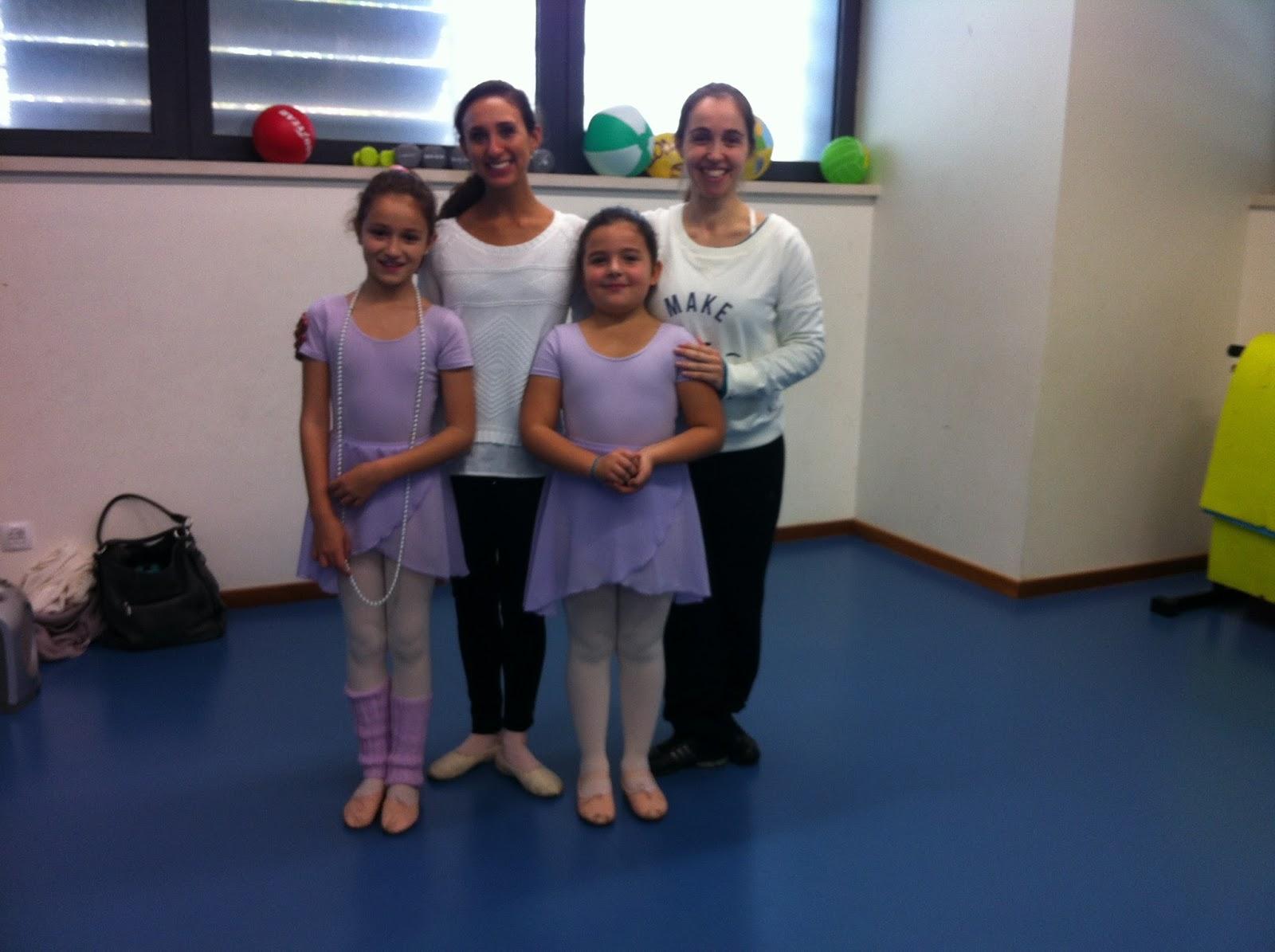 Masterclass PA AAB - Alunas nível 2 - Ballet no Clube de Futebol de Sassoeiros