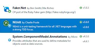 Visual Studio Unit Tests with NUnit framework | Adão, the developer