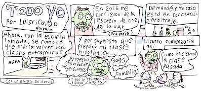 El caricaturista de Puebla Luis Ricardo y la escuela de arte de la BUAP