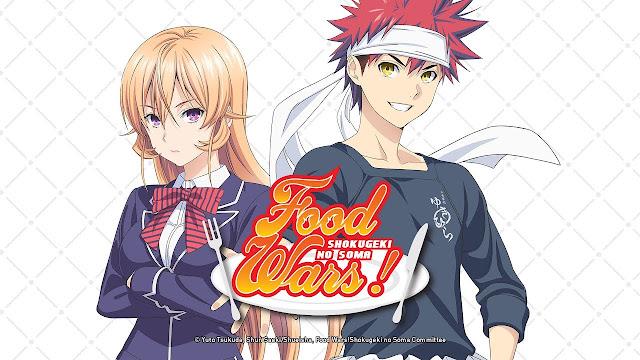 Food Wars Manga Ending