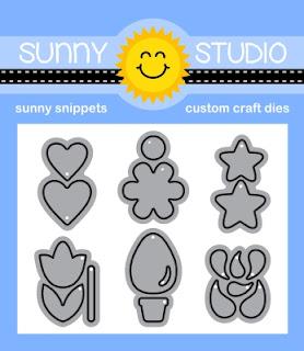 Sunny Studio Snippets 6-piece Basic Mini Shape Die Set 3