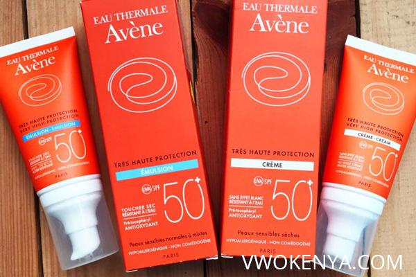 kem chống nắng Avene cho da dầu