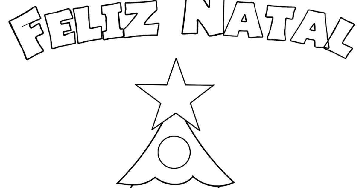 Meus Trabalhos Pedagógicos ®: Desenhos De árvore De Natal