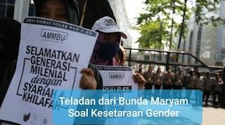 Teladan dari Bunda Maryam Soal Kesetaraan Gender