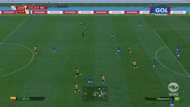 PES 2016 Copa America Centenario 2016 Scorerboard