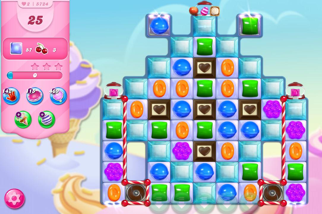 Candy Crush Saga level 5724