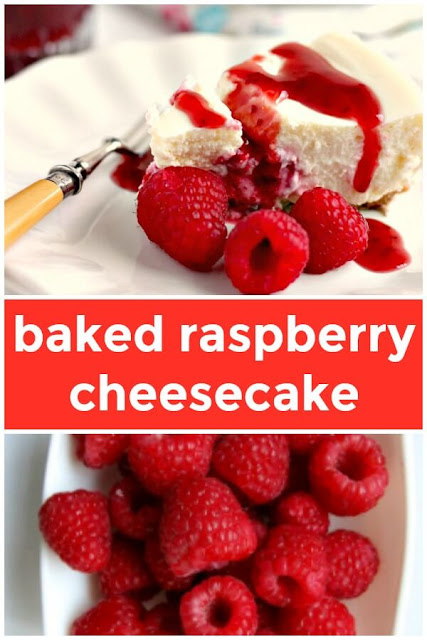 Baked Berry Cheesecake Pin it image