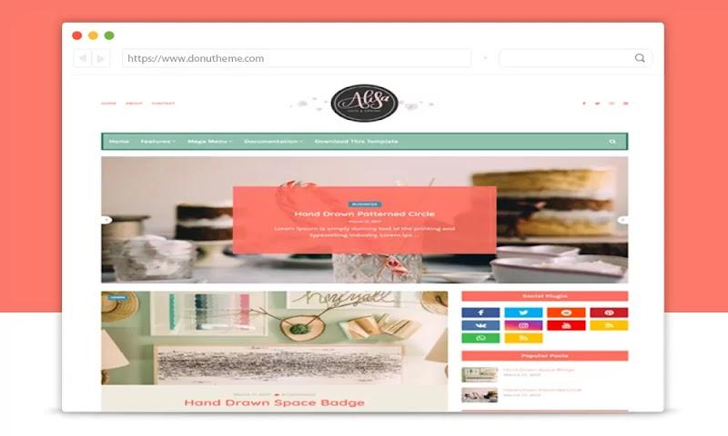 Alisa v1.0 Responsive Blogger Template - Responsive Blogger Template