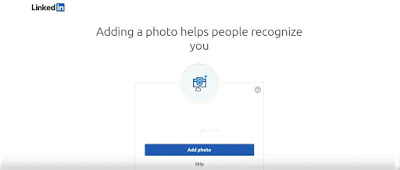 How to add profile picture on LinkedIn
