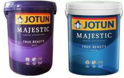 Jotun Majestic true beauty matt and sheen