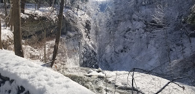 Letchworth State Park in winter