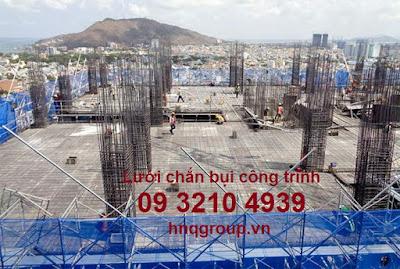 Lưới rào công trường HDPE