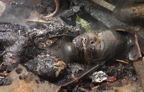 Jungle Justice: Two Ladies Allegedly Stripped and Burnt to Death Over Lesbianism in Makurdi (Graphic Photos)