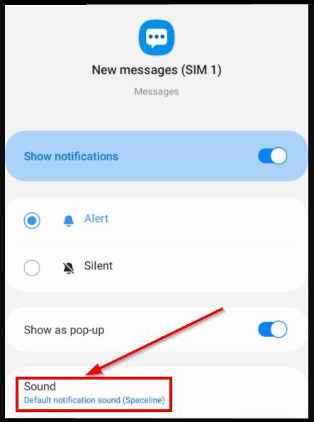 ubah notif sms lucu