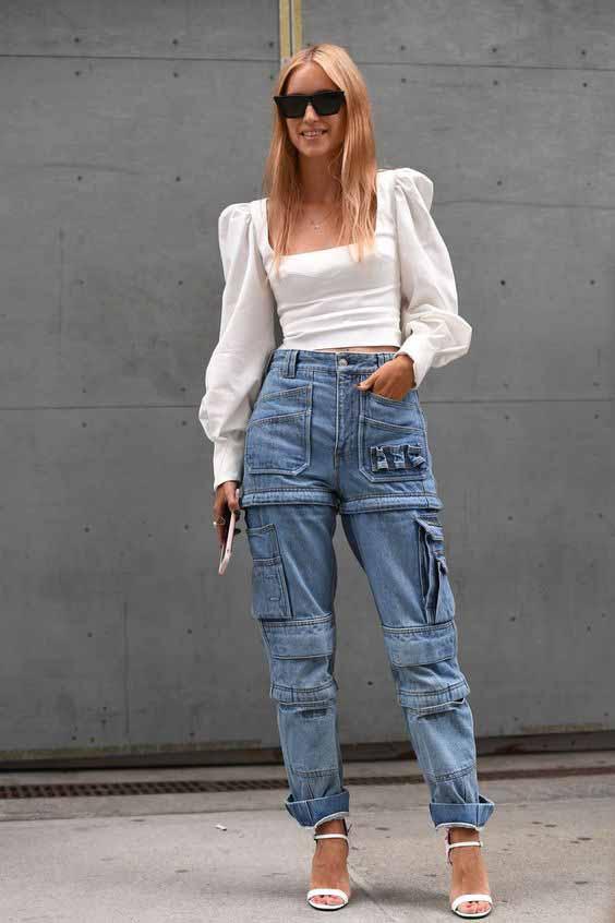 Como usar calça cargo