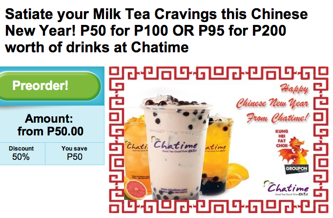 Chatime | A Strawberry Day