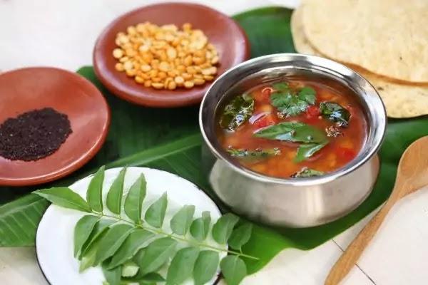 Tomato Rasam Recipe and Powder at Home