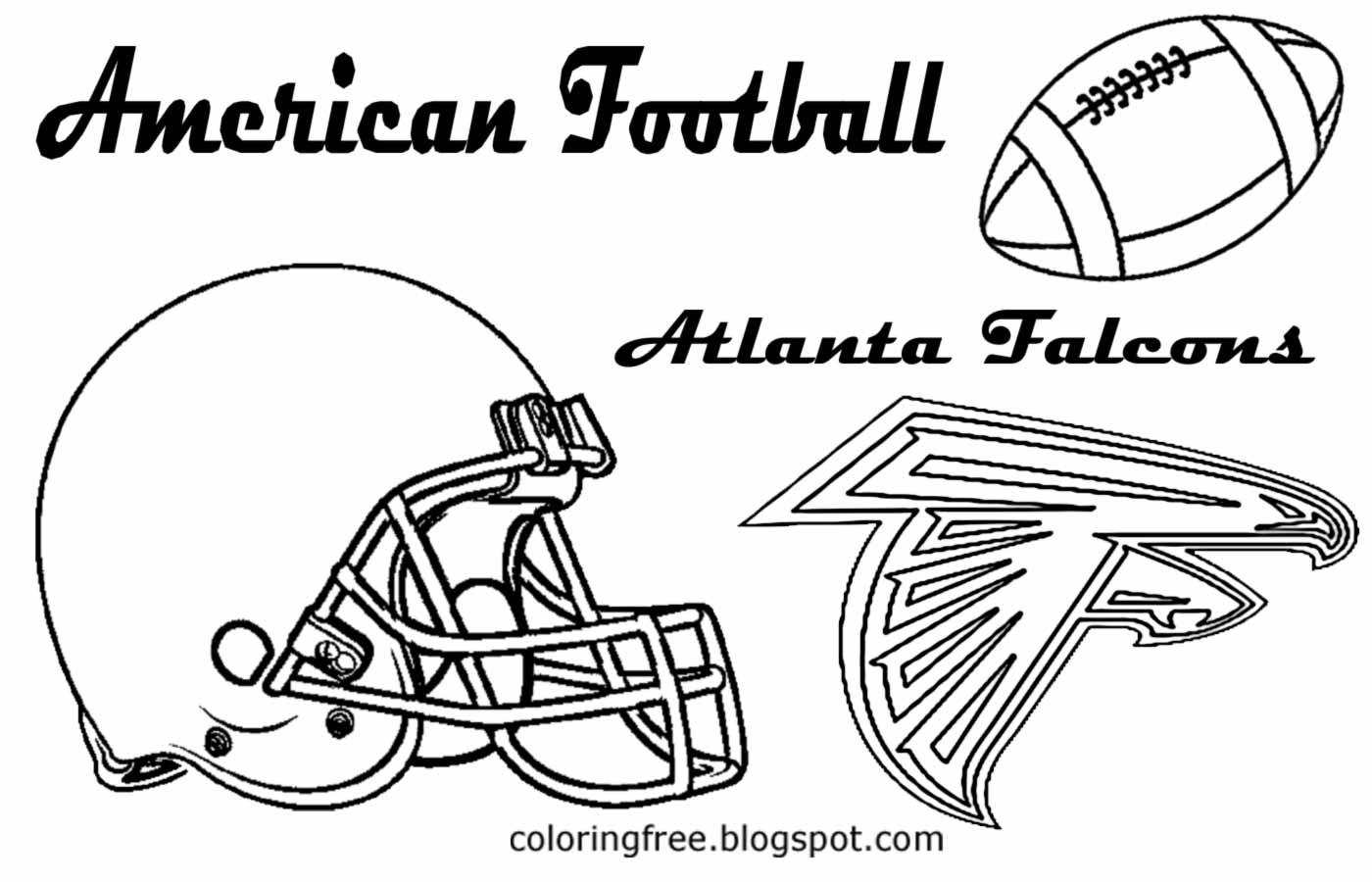 Atlanta Falcons Printable Coloring Pages