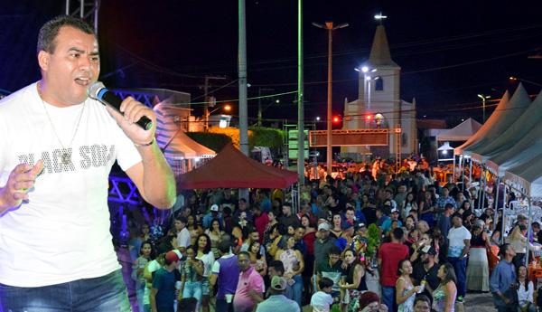 Gian Carlos agita a terceira noite de atrações da Festa de Janeiro 2019 em Iguaracy. Veja também a programação para hoje: