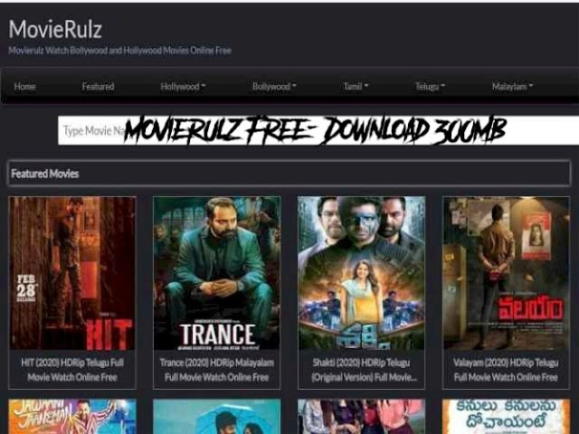 Movierulz Free - Download 300MB Movies