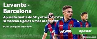 betway promocion Levante vs Barcelona 16 diciembre