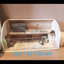 Kandang Hamster dari Kayu