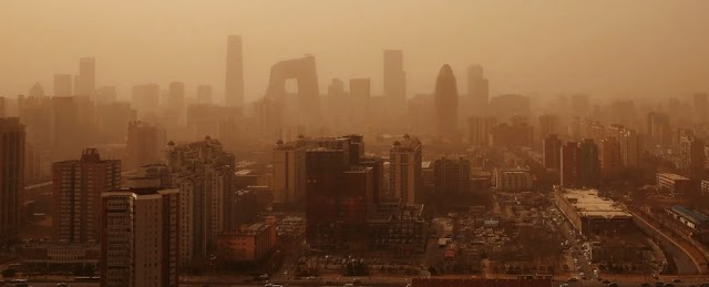 According to a geologist, Beijing's dramatic'sandstorm' was actually something worse.