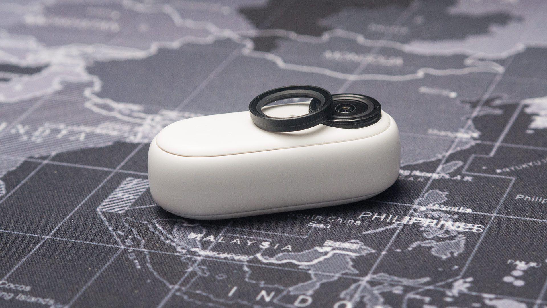 Съемное защитное стекло объектива камеры Insta360 Go 2