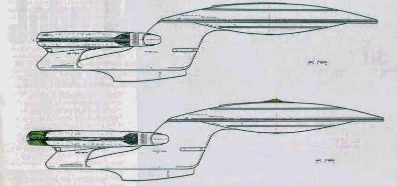 Uss Enterprise Diagram 2000 Honda Civic Wiring 25 Things About Star Trek S D You Probably Didn T Know While The Original U Was Capable Of Splitting Saucer Section From Main Body It Wasn Until Design