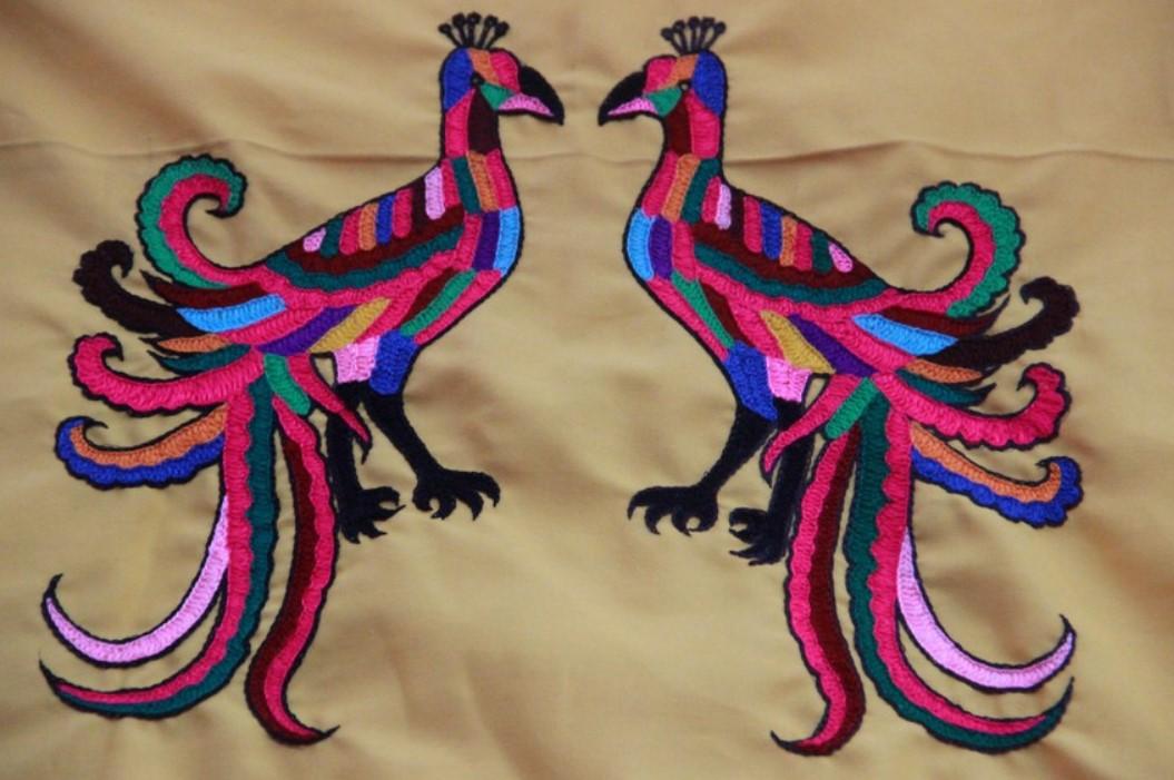 corak burung khas kalimantan