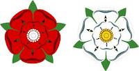 Emblemas casas Lancaster y York
