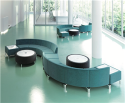 modular waiting room seating configuration