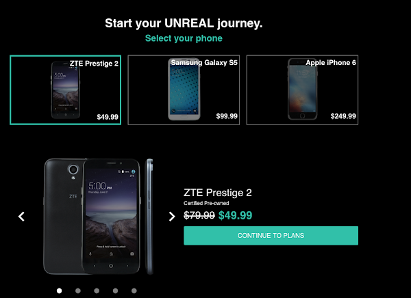 Unreal Mobile - Pick your device
