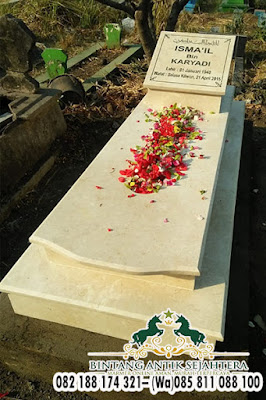 Kijing Makam Jakartanan Granit, Makam Jakartanan, Jenis Kijing Marmer