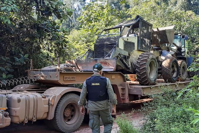 MPF questiona Ibama no Pará sobre maquinário utilizado em crimes ambientais