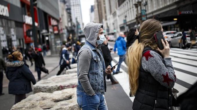 Alcalde exhorta a neuyorquinos salir a las calles con boca y nariz cubiertas
