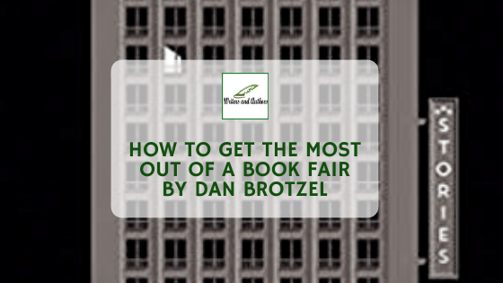 How To Get The Most Out Of A Book Fair, Guest post by Dan Brotzel, co-author of Kitten on a Fatberg.