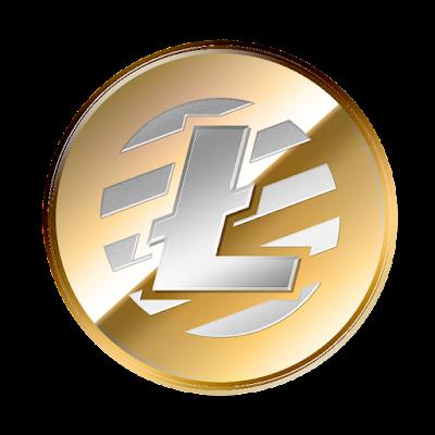 ライトコイン(Litecoin)のフリー素材(金貨ver)