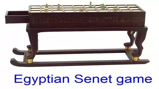 Egyptian Senet Game