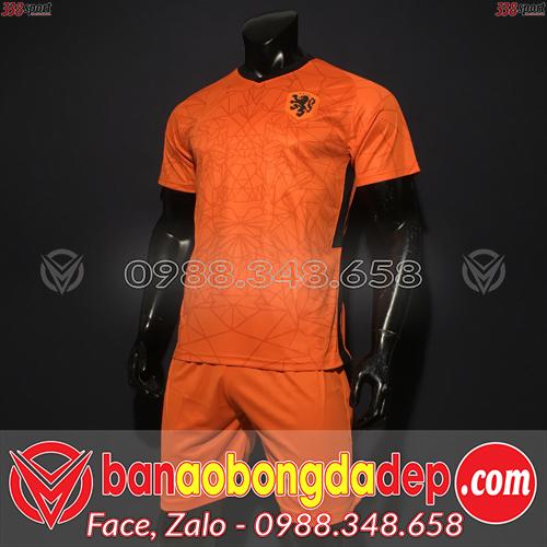 Áo Đội Tuyển Hà Lan Màu Cam 2020 Sân Nhà