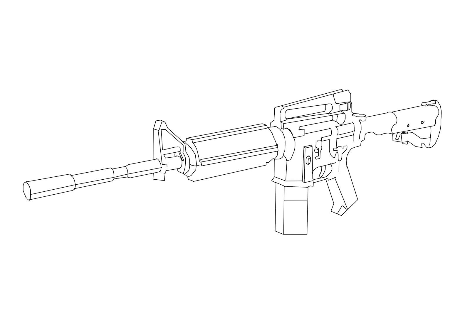 M4 M4a1 Carbine