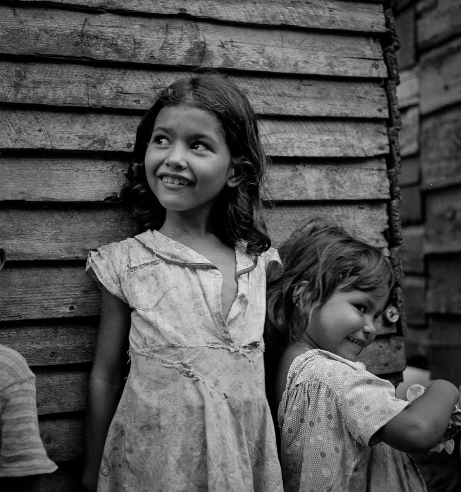 Children in Utuado.