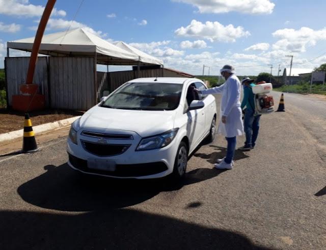 Barreira sanitária em Riacho dos Cavalos estende horário de trabalho e reforça ações contra o novo coronavírus