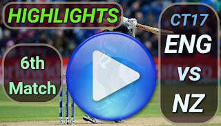 ENG vs NZ 6th Match
